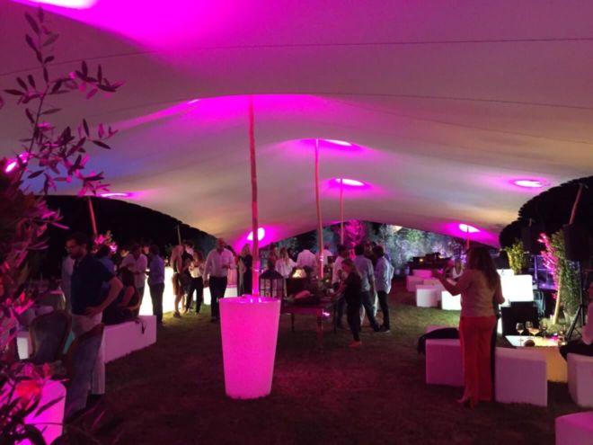 namiot na imprezie firmowej